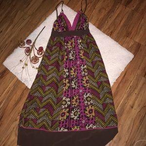 Mint Beautiful tribal boho maxi dress
